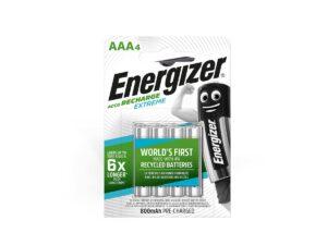 Energizer Extreme Eco 800mAh AAA-akku -4kpl