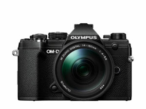 Olympus OM-D E-M5 Mark III 14-150mm kit -musta