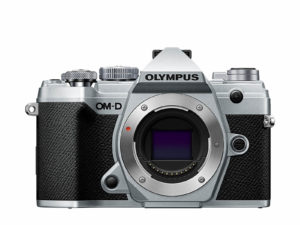 Olympus OM-D E-M5 Mark III hopeinen runko