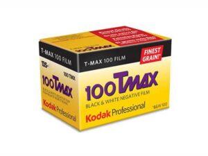 Kodak T-Max 100/24 mustavalkofilmi
