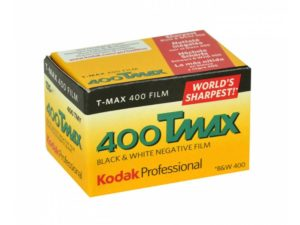 Kodak T-Max 400 mustavalkofilmi