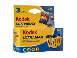 Kodak Ultra värifilmi kolmen paketti