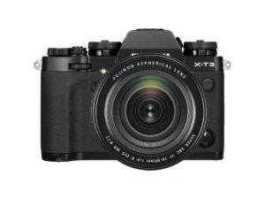 Fujifilm X-T3 16-80mm musta