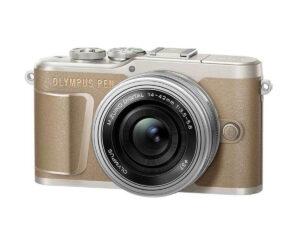 Olympus-PEN-E-PL10-14-42EZ kit-ruskea