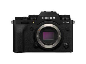 Fujifilm X-T4 runko musta