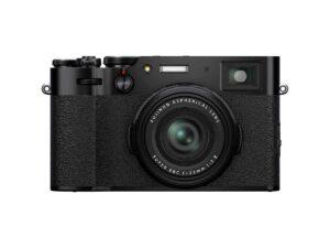 Fujifilm X100V musta