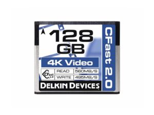 Delkin 128gb Cfast Cinema 2.0