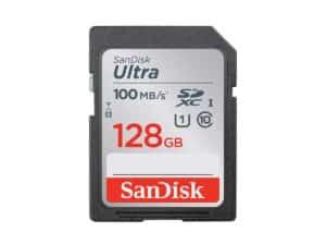 SanDisk Ultra 128gb SDXC 100MB