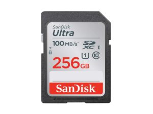 SanDisk Ultra 256gb SDXC 100MB