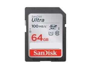 SanDisk Ultra 64gb SDHC 100MB