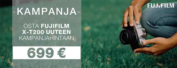 Fujifilm X-T200 kampanja