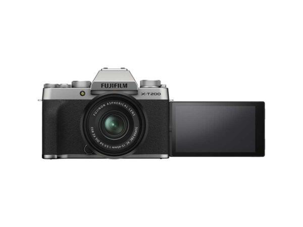 Fujifilm X-T200 näyttö edestä