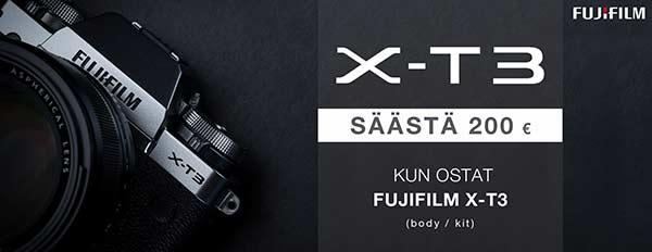 Fujifilm X-T3 Cash Back