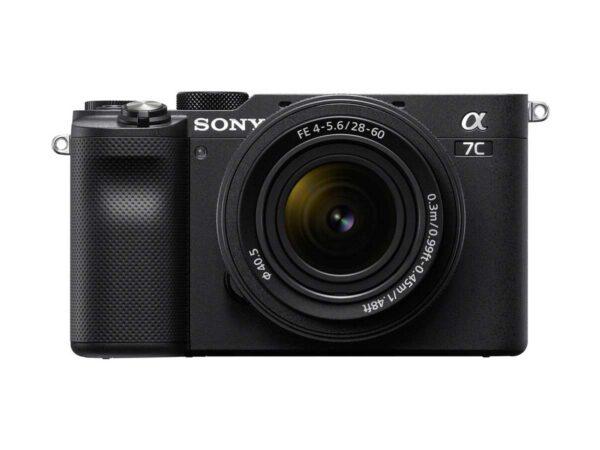 Sony A7c 28-60mm kit musta