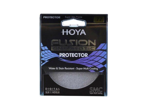 Hoya Fusion Antistatic Protector pakkaus 2